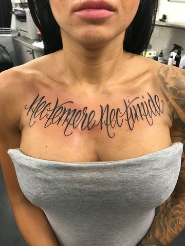 Tattoo Lettering Arnhem De Mooiste Teksten Laten Zetten